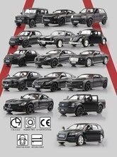 Детские игрушки серии Mustang Chevrolet SUV из матового черного цвета, литой игрушечный автомобиль, Изысканная модель RMZ city 1/36, автомобиль из сплава