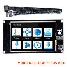 BIGTREETECH TFT35 V2.0 スマートタッチスクリーンディスプレイ 3.5 インチフルカラーパネルクローナ V1.3 プロ MKS 世代 L controll 3D プリンタボード
