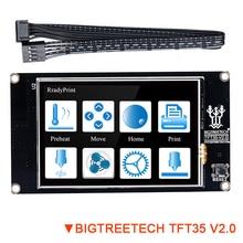 Bigtreetech tft35 v2.0 tela de toque inteligente 3.5 Polegada painel de cor completa para skr v1.3 pro mks gen l controll placa de impressora 3d