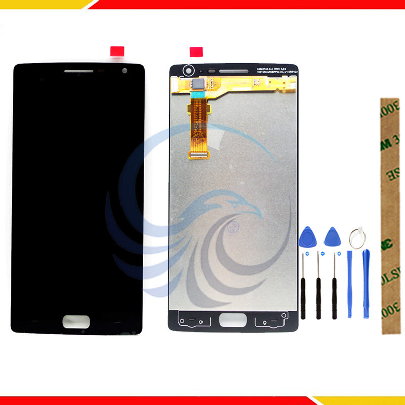 Tested Touch <font><b>Screen</b></font> For <font><b>Oneplus</b></font> <font><b>2</b></font> One Plus <font><b>2</b></font> LCD Display + Touch <font><b>Screen</b></font> 100% Good Digitizer Assembly <font><b>Replacement</b></font> image
