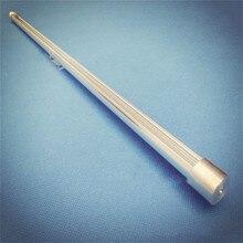 Profilé rond led en aluminium, barre lumineuse pour vitrine, lumière linéaire, bande rigide de 12mm, 40 pouces, 1m, 10-30 pièces