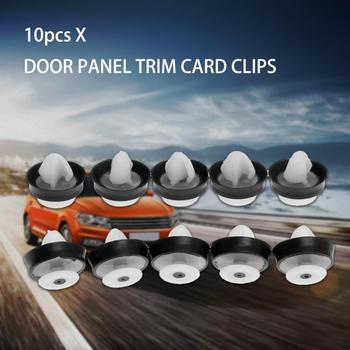 10x Car Interior Door Panel Card Trim Clips For Citroen C2 C8 C3 C4 Picasso Peugeot 307 206 508 Auto Fastener Clip Plastic Rivet