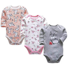 Комплект одежды для новорожденных мальчиков и девочек боди с