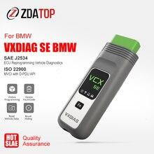 VXDIAG VCX SE صالح لسيارات BMW أفضل ICOM A2 A3 التالي واي فاي ISTA D OBD2 الماسح الضوئي سيارة أداة تشخيص ECU البرمجة على الانترنت الترميز DOIP