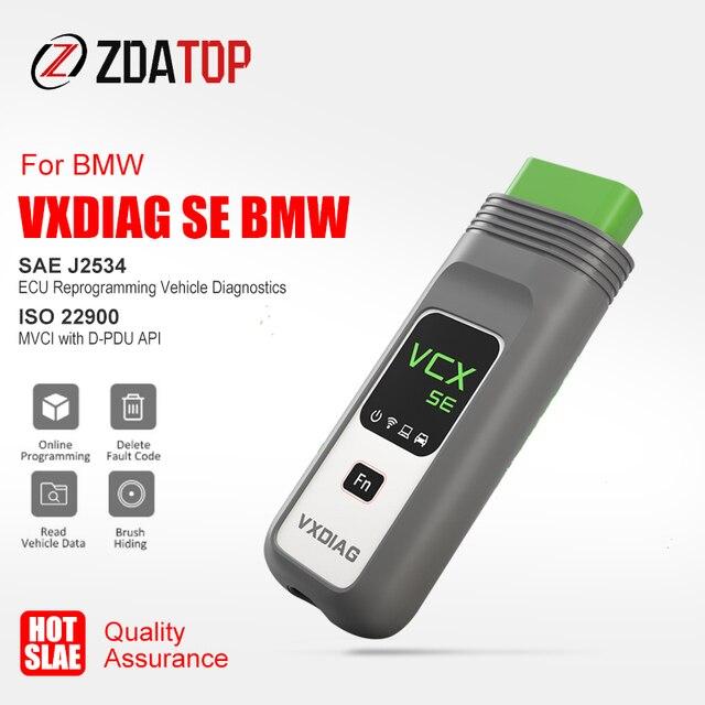 Vxdiag vcx se bmw より良い icom A2 A3 次 wifi ISTA D OBD2 スキャナー車診断ツールの ecu プログラミングオンラインコーディング doip