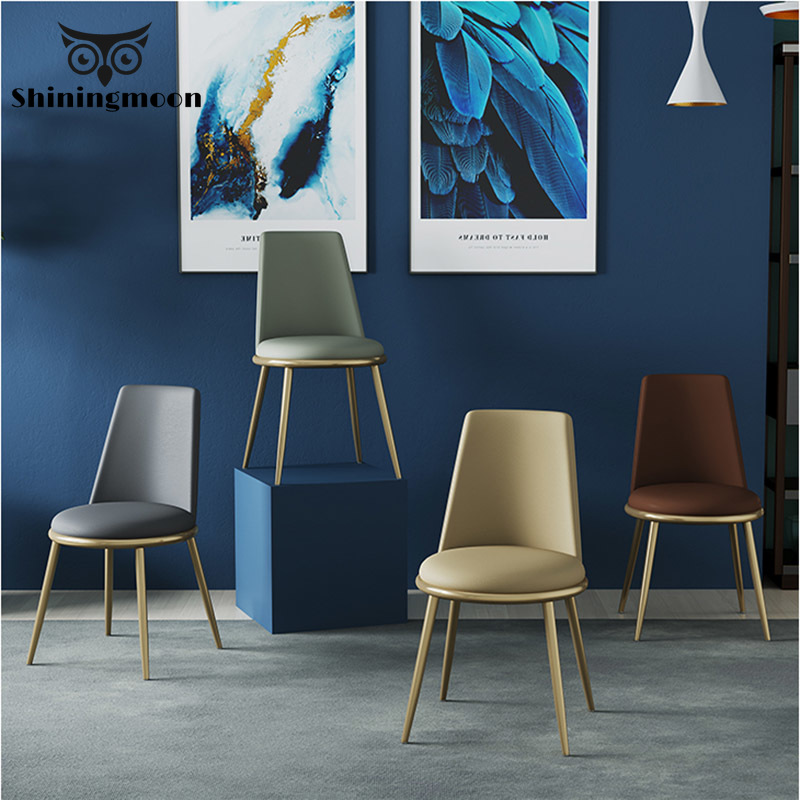 Modern Fashion Soft Bag Restaurant Dining Chairs Restaurant Office Meeting Computer  Louis Chair Bedroom Learning Lounge Chair