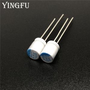 Image 1 - 10 sztuk 560uF 6.3V NCC PSE serii 6.3x8mm Super niskie ESR 6.3V560uF dla płyty głównej VGA stałe kondensatory