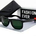 Grande moldura do vintage marca designer cor verde lentes de vidro feminino óculos uv400 feminino 2020 moda masculino condução