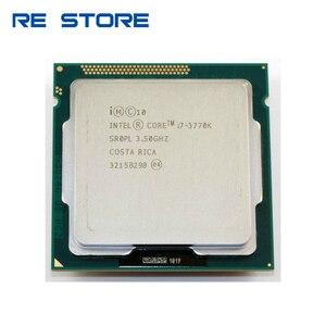 Image 1 - ใช้Intel Core i7 3770K Quad Core 3.5GHz 8MB Cache HDกราฟิก 4000 TDP 77Wเดสก์ท็อปLGA 1155 CPU Processor