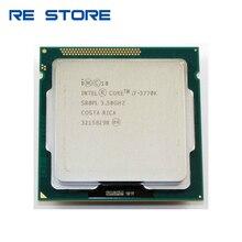 Używany czterordzeniowy rdzeń Intel Core i7 3770K 3.5GHz 8MB pamięci podręcznej z grafiką HD 4000 TDP 77W pulpit LGA 1155 procesor CPU