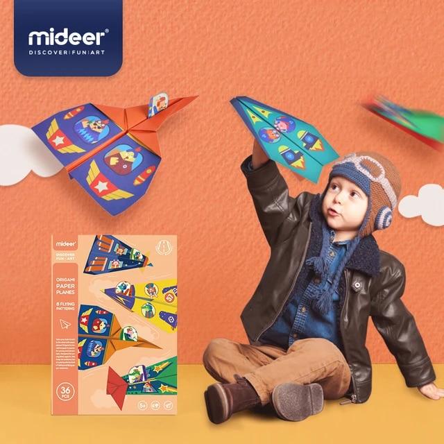 Amazon.com: Simple Origami Airplanes Kit: Fold 'Em & Fly 'Em ...   640x640