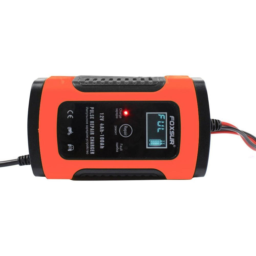Universal 12V6A Motorcycle Car Battery Repair Type Lead Acid Storage Charger