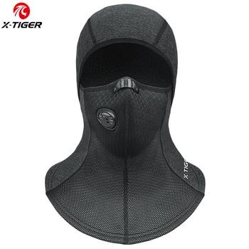 X-TIGER Winter Cycling Face Mask Fleece Thermal Balaclava Ski Mask Cap Snowboard Bike Bicycle Face Mask Windproof Cycling Scarf