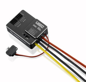 Image 3 - Original Hobbywing UBEC 25A HV 3 18S Module 25A External Switching for DIY FPV mini Racing Quadcopter Drone