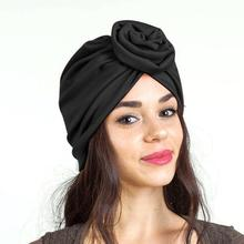 Hair Care Cap Fashion Cotton 3D Flower Knot Bathing Sleeping