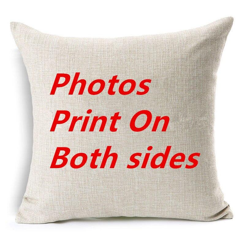 Ev ve Bahçe'ten Minder Kılıfı'de 10 adet yastık kapakları birlikte her iki tarafta Tasarım Resim burada Baskı Pet düğün hayatı fotoğraf hediye özelleştirmek ev yastık kılıfı'da  Grup 3