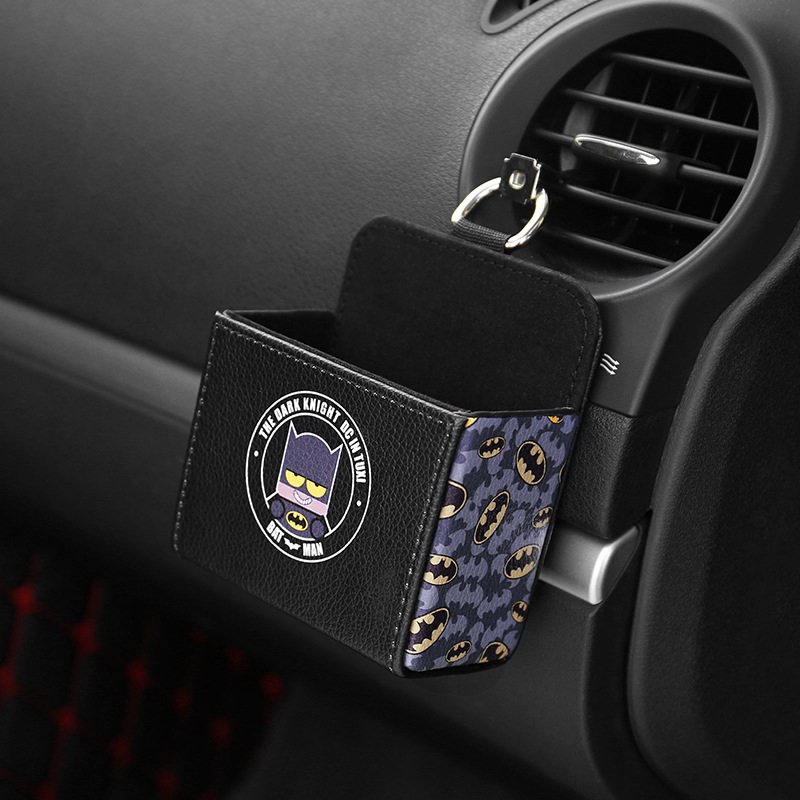 Car air outlet compartment car storage storage box car storage storage box multi function mobile phone hanging bag in Auto Fastener Clip from Automobiles Motorcycles