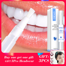 EFERO White Teeth Whitening Pen Tooth Gel Whitener Remove Plaque Stains Oral Hygiene Dental Tool Bleaching
