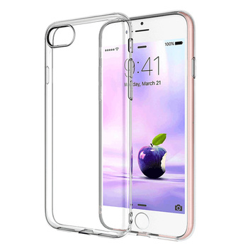 Ultra Thin Slim Clear Soft TPU Funda For iPhone 7/7Plus Case Transparent 2020 Cover Protective Shockproof Phone Case image
