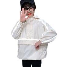 Jacket Coat Girl Reflective Luxury Outerwear Boys Autumn Kids 11 13 14 4-5 Age Hooded