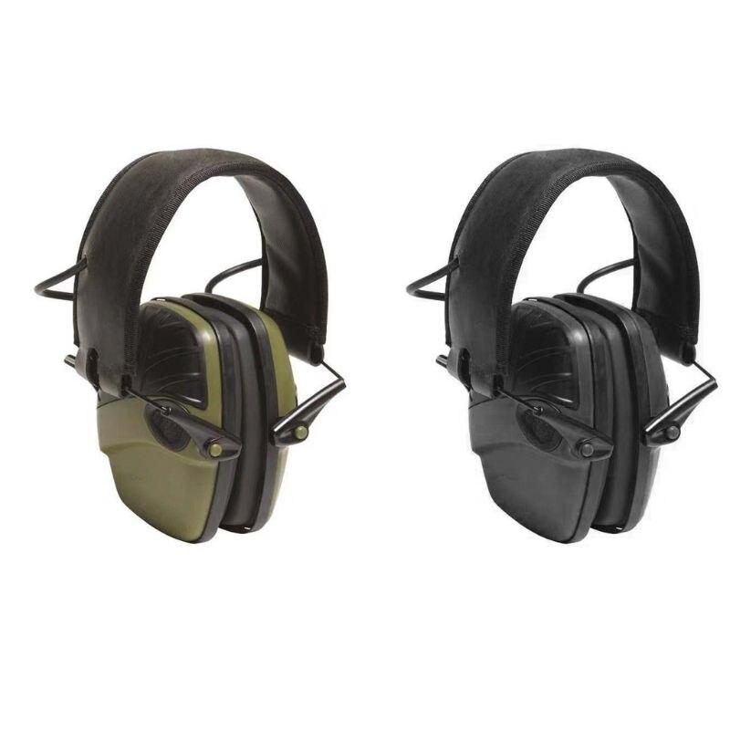 protecao da orelha dobravel esporte earmuff eletronico tiro tatico fone de ouvido reducao ruido protecao auditiva