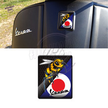 3D Motorcycle Sticker Case for PIAGGIO VESPA Emblem Logo GTS GTV LT LX LXV 50 125 150 300 300ie(China)