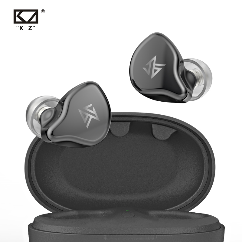 KZ S1 S1D TWS Wireless Bluetooth 5.0 Earphones Touch Control Earbuds Dynamic Hybrid Driver Unit Headset AS10 ZS10 ZSX