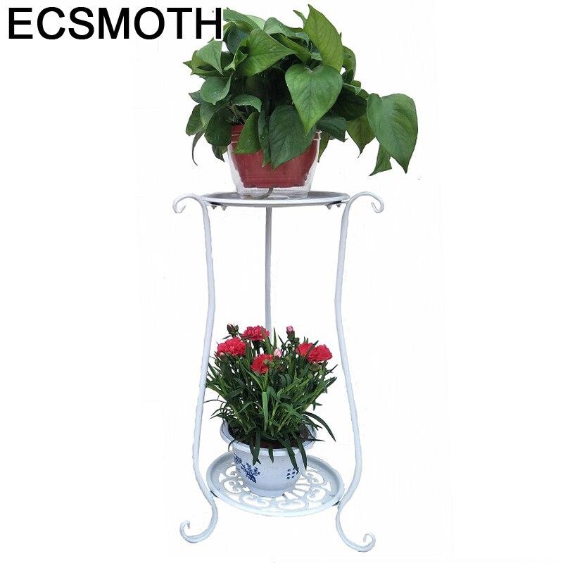 Saksisi Dekoru Decoration Exterieur Varanda Planten Rek Mensole Per Fiori Shelf Balkon Plant Stand Balcony Flower Iron Rack