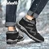 Abhoth Men Shoes Winter Warm Soft Comfortable Outdoor Snow Women Shoes Non-slip Wear-resistant Zapatillas Hombre Running Shoes