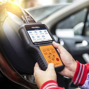 Image 5 - FOXWELL NT650 엘리트 OBD 2 자동차 도구 자동차 스캐너 코드 리더 SAS DPF 인젝터 BRT 오일 19 재설정 서비스 OBD2 진단 도구