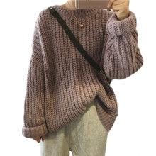 Ysdnchi вязаный свитер женский пуловер с длинным рукавом джемпер