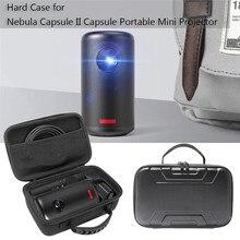 Portable Protective Hard Carrying Case Storage Bag for Nebula Capsule II Smart Mini Projector Storage Case Waterproof Dustproof