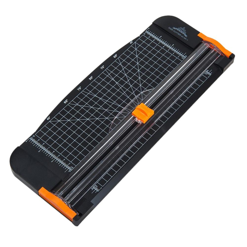 Practical A4 Steel Home Easy Operate Safe Office Photo Portable Sharp Blade Accurate Paper Trimmer Cutter Ruler