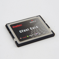 High Quality Kingspec CFAST Memory Cards SATA 2 SSD 8GB 16GB 32GB 64GB 128GB 7+17 Pin MLC Industrial device,router ,slrs