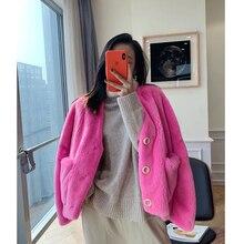 Hdhohr 2021 Nieuwe 100% Real Mink Fur Coats Vrouwen Natuurlijke Importe Nertsen Bont Bovenkleding Korte Jassen Hele Mink Fur Jassen vrouwelijke