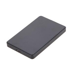 """Высокоскоростная синхронизация 5 Гбит/с Скорость 2,5 """"USB 3,0 SATA Hd Box HDD корпус для внешнего жесткого диска чехол Поддержка 2 ТБ для Windows 7/8/98/ME/XP/Mac OS"""