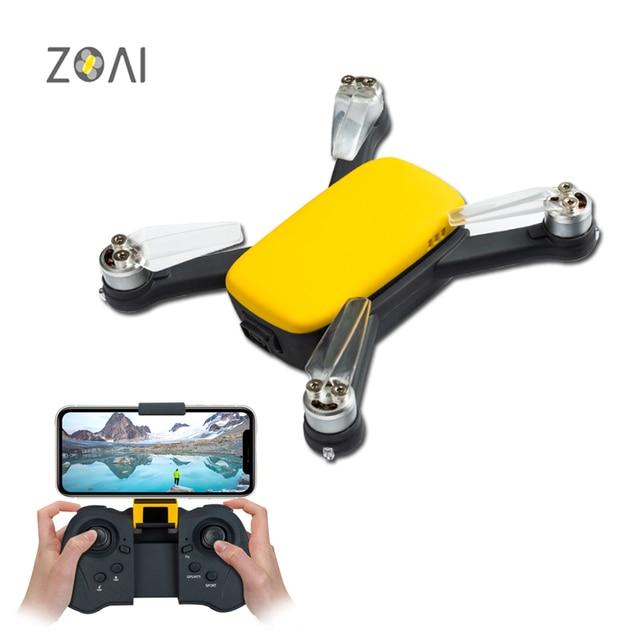 ZOAI INITIATE Drone with camera GPS MINI RC Quadcopter FPV 1080P HD 5G WIFI Brushless Motors Return Home Pocket Aerial camera Cameras Cameras & Photography Consumer Electronics Electronics Photo Cameras Video Cameras