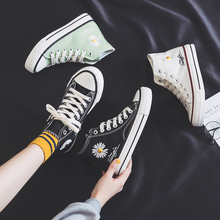 New spring autumn fashion wild women's casual vulcanized shoes color matching hi