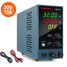 High-precision 30V 5A 10A DC power supply Mini low-noise artificial power regulator portable safety lock for multi-scene use