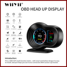 Car-Hud-Display Speedometer Hud Obd2 Smart Navigation-Version Dual-Systems AI F9 GPS