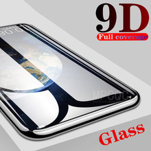 9D Full Cover Tempered glass For Huawei Honor 9X Pro 20 8S 8A 20i Glass P Smart Z Protector huawei nova 4 4e 5 Film