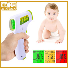 Infrared Digital Forehead Thermometer LCD Non-contact termometro Body Object Temperature Measure 3-5cm for Baby Adult