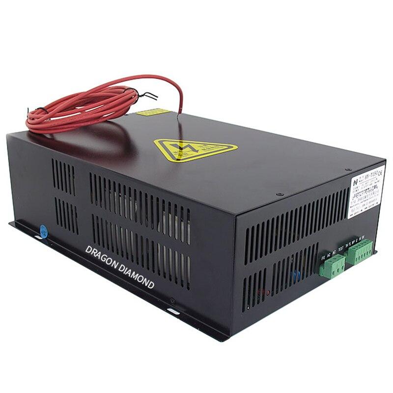 Купить с кэшбэком 150W CO2 Laser Power Supply HY-T150 T/W Series AC220V/110V For CO2 Laser Engraving Machine