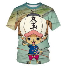 Summer Boy Cartoon shirt 3D Printed One Piece Monkey D Luffy Children's T shirt Fashion Boy and Girl Anime Short sleeve top&tees stylish monkey king printed t shirt and pencil pants twinset for women
