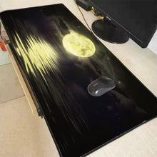 Большой игровой коврик для мыши mrgbest с изображением лунного