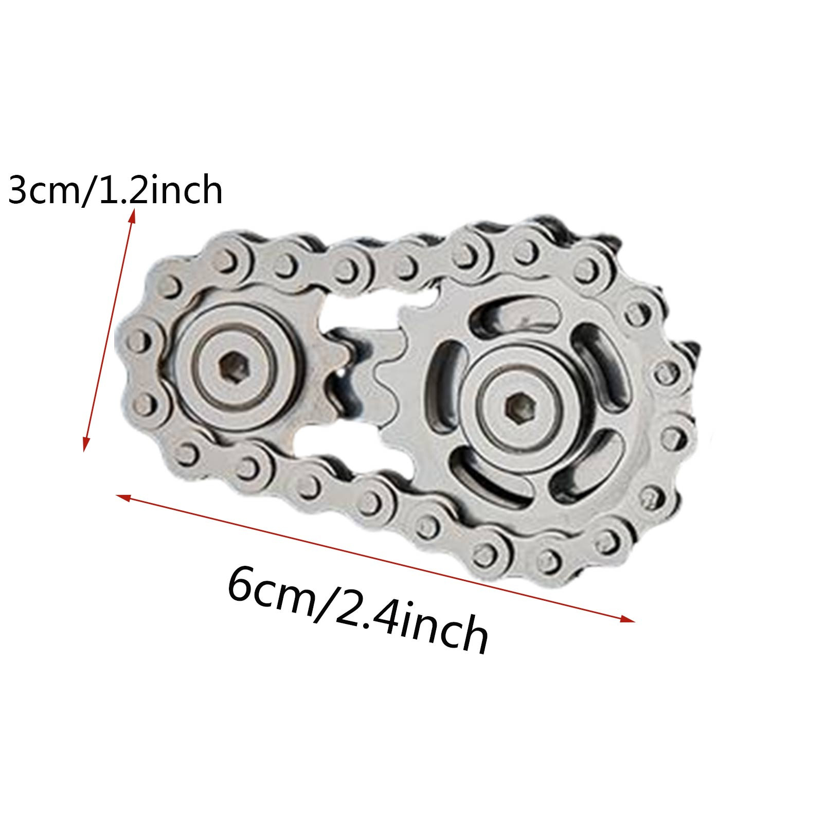 Fingertip Gyro Sprocket Sprocket Flywheel Fingertip Toy Gear Decompression Gyro Boys And Girls Birthday Toys enlarge