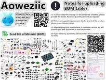 Aoweziic BOM Professionalส่วนประกอบอิเล็กทรอนิกส์One Stop BOMตารางการจับคู่ชุดบริการ (Please Inquireชุดราคา,ซื้อ)