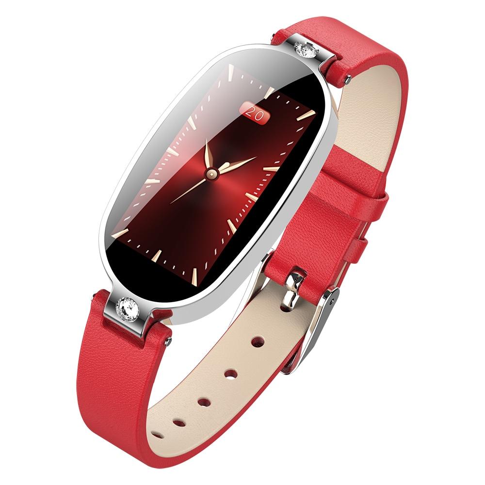 Женские Смарт часы B79 с цветным экраном, фитнес трекер с напоминанием о давлении, ЭКГ, ППГ, пульс|Смарт-браслеты|   | АлиЭкспресс