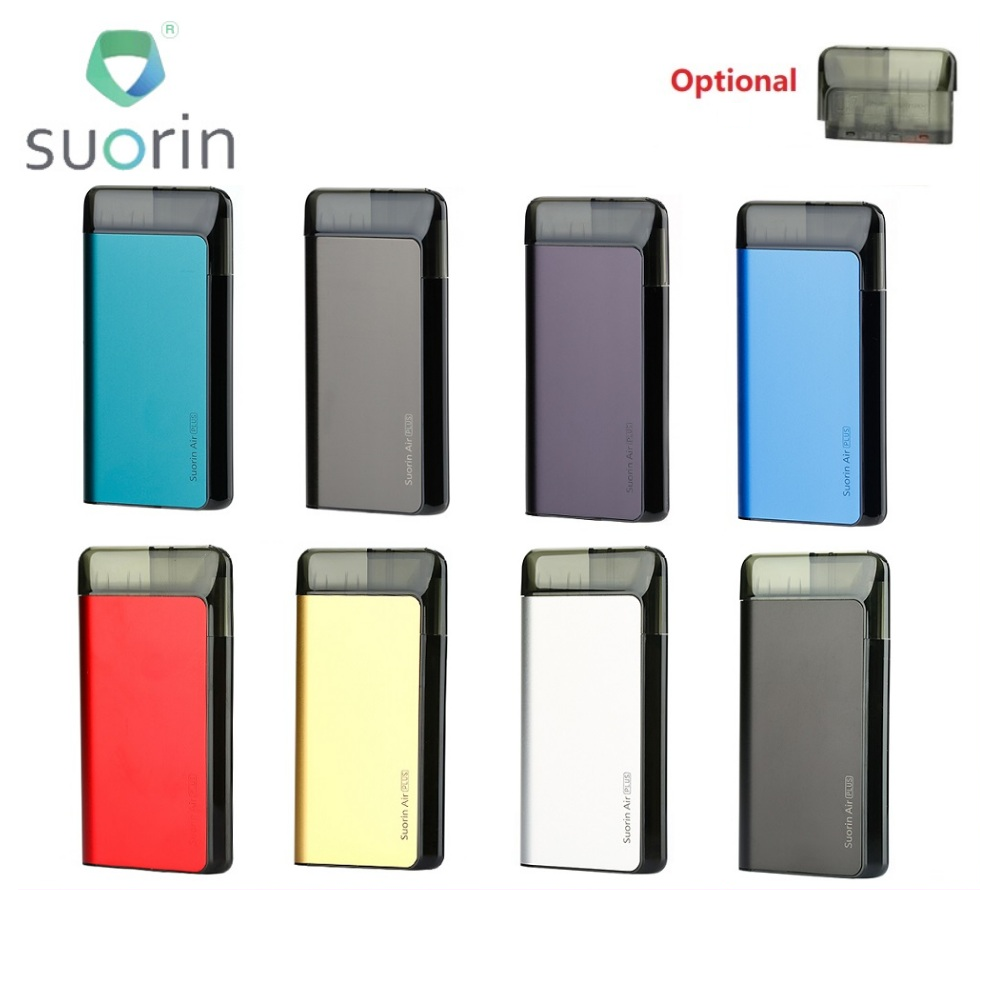 Original <font><b>Suorin</b></font> <font><b>Air</b></font> <font><b>Plus</b></font> <font><b>Pod</b></font> System Kit with 930mAh Built-in Battery & 3.5ml Tank E-cig <font><b>Pod</b></font> Vape Kit e Cig vs Drag Nano/ Minifit image