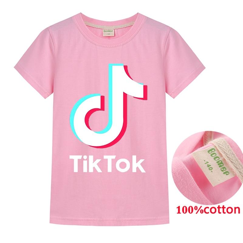 Pink, 150 Girl TIK Tok Hoodies Pants Set Cool Sweatshirt Unisex Kids Clothes Set Trousers